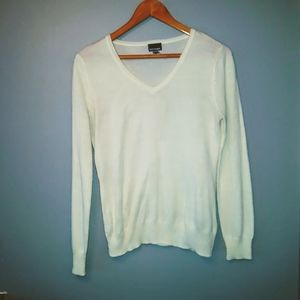 Off White Sweater Great For Work at the Office